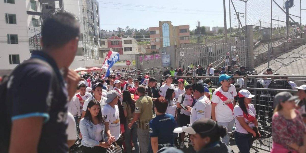 Liga de Quito vs Emelec: Así es el ambiente antes de la gran final
