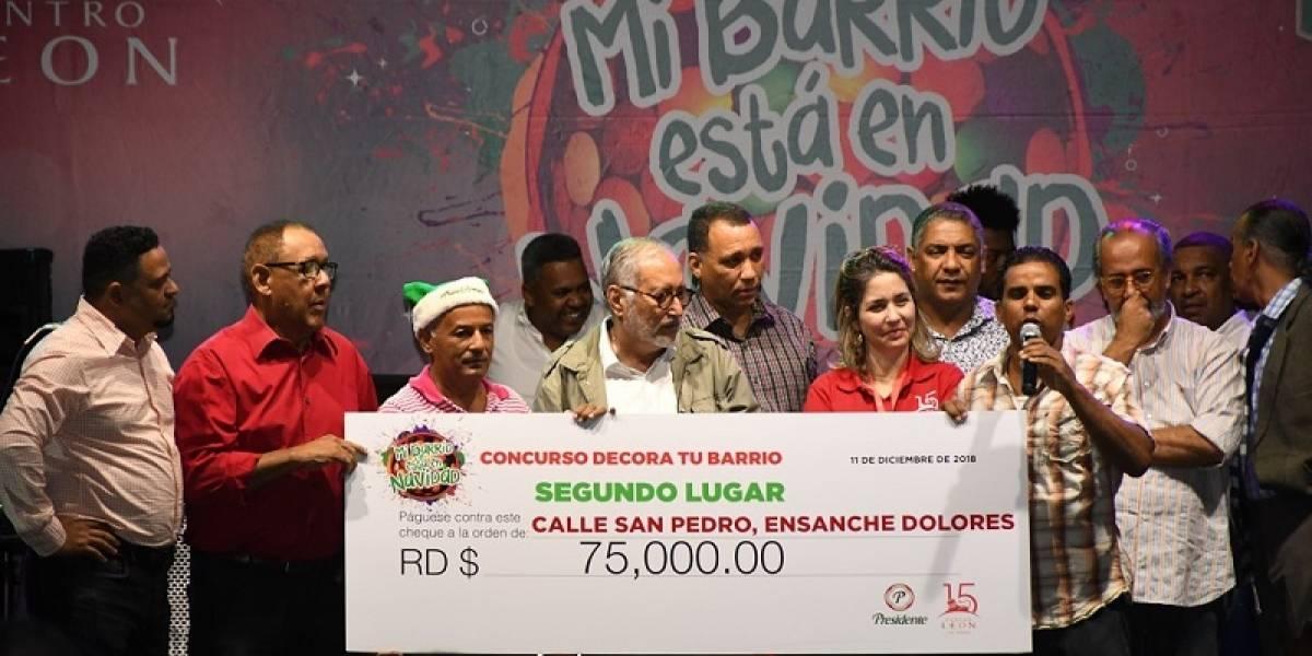 """Premian creatividad ganadores del concurso """"Decora tu barrio"""""""