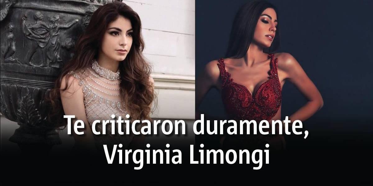 Cuenta de Instagram critica duramente a Virginia Limongi en el Miss Universo 2018