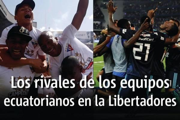Sorteo Copa Libertadores 2019: Liga de Quito y Emelec conocen hoy sus rivales