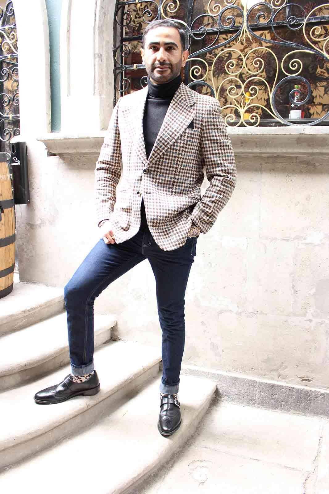 Ivan Aboumrad @ivanaboumrad Amamos los sacos Tweed