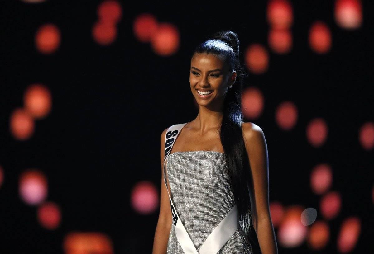 Miss Sudáfrica, Tamaryn Green EFE