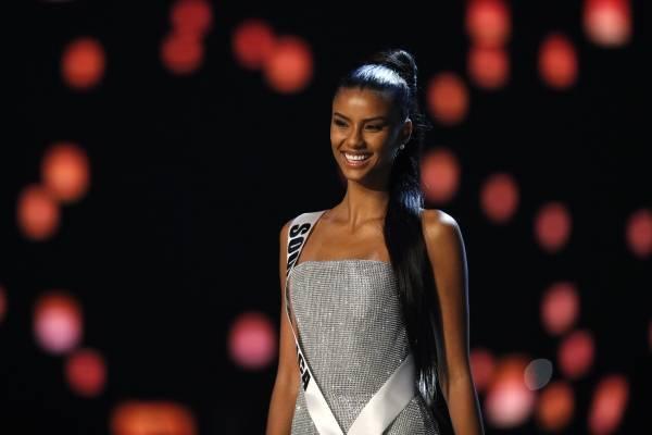 Miss Sudáfrica, Tamaryn Green, se vuelve viral por su expresión tras coronación de la nueva Miss Universo