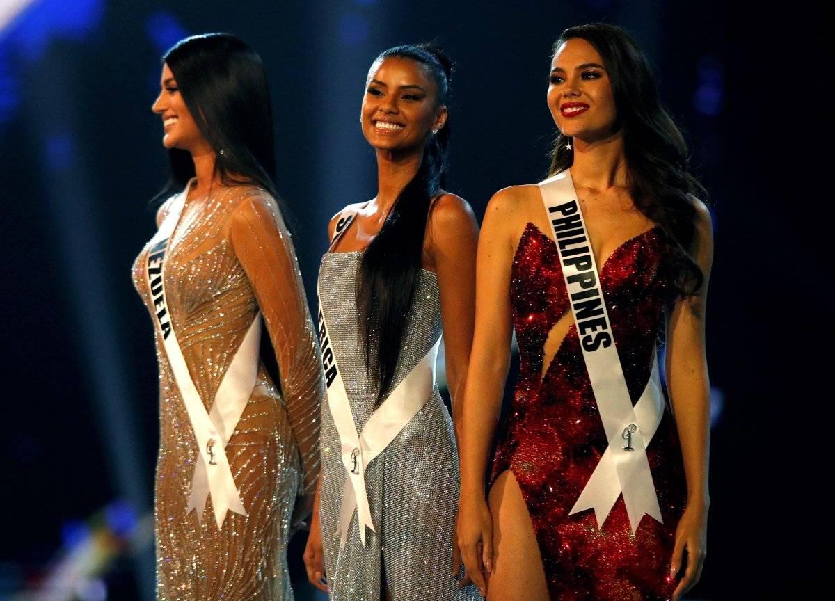 Finalistas Miss Universo EFE