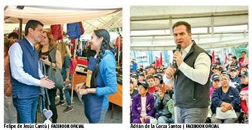 Candidatos punteros para alcaldía de Monterrey intentan encarrilarse