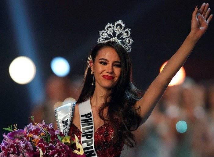 Catriona Gray, Miss Universo EFE