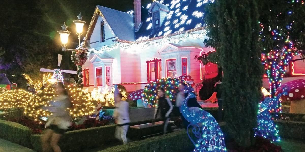 Instalan parque temático de Navidad en Guadalajara
