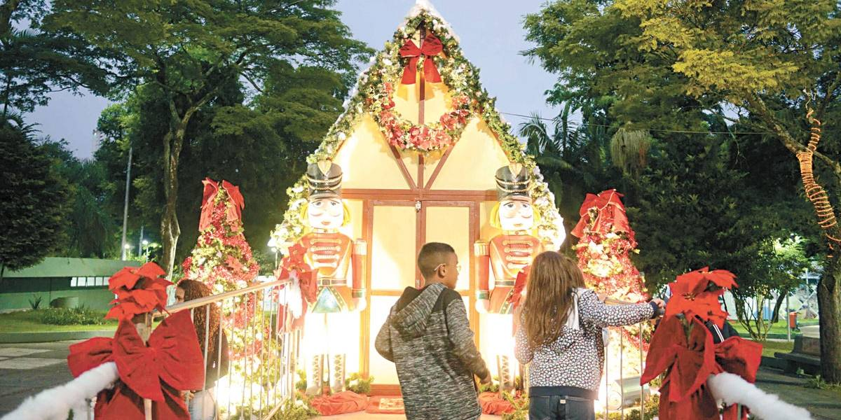 Casa do Papai Noel abre as portas em São Bernardo até a véspera de Natal