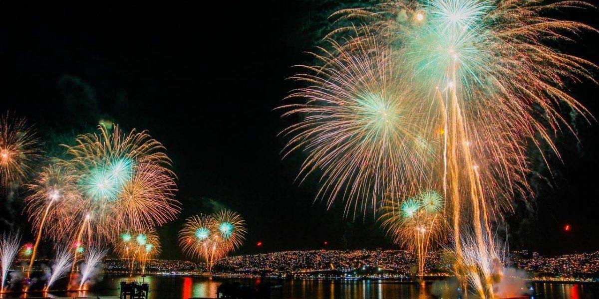 Tension Por Ano Nuevo Instalaron Balsas Para Fuegos Artificiales