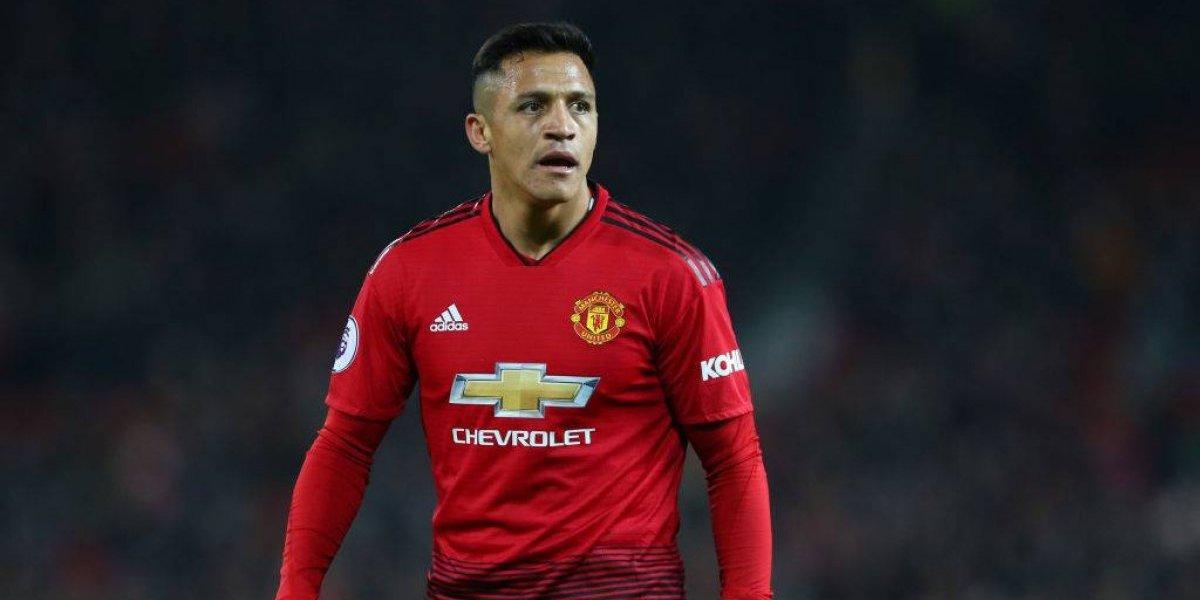 Diario inglés destroza a Alexis y lo califica como el peor jugador del Manchester United 2018