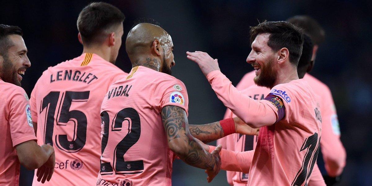 Barcelona vs. Levante: Messi concretó su triplete con sutil definición