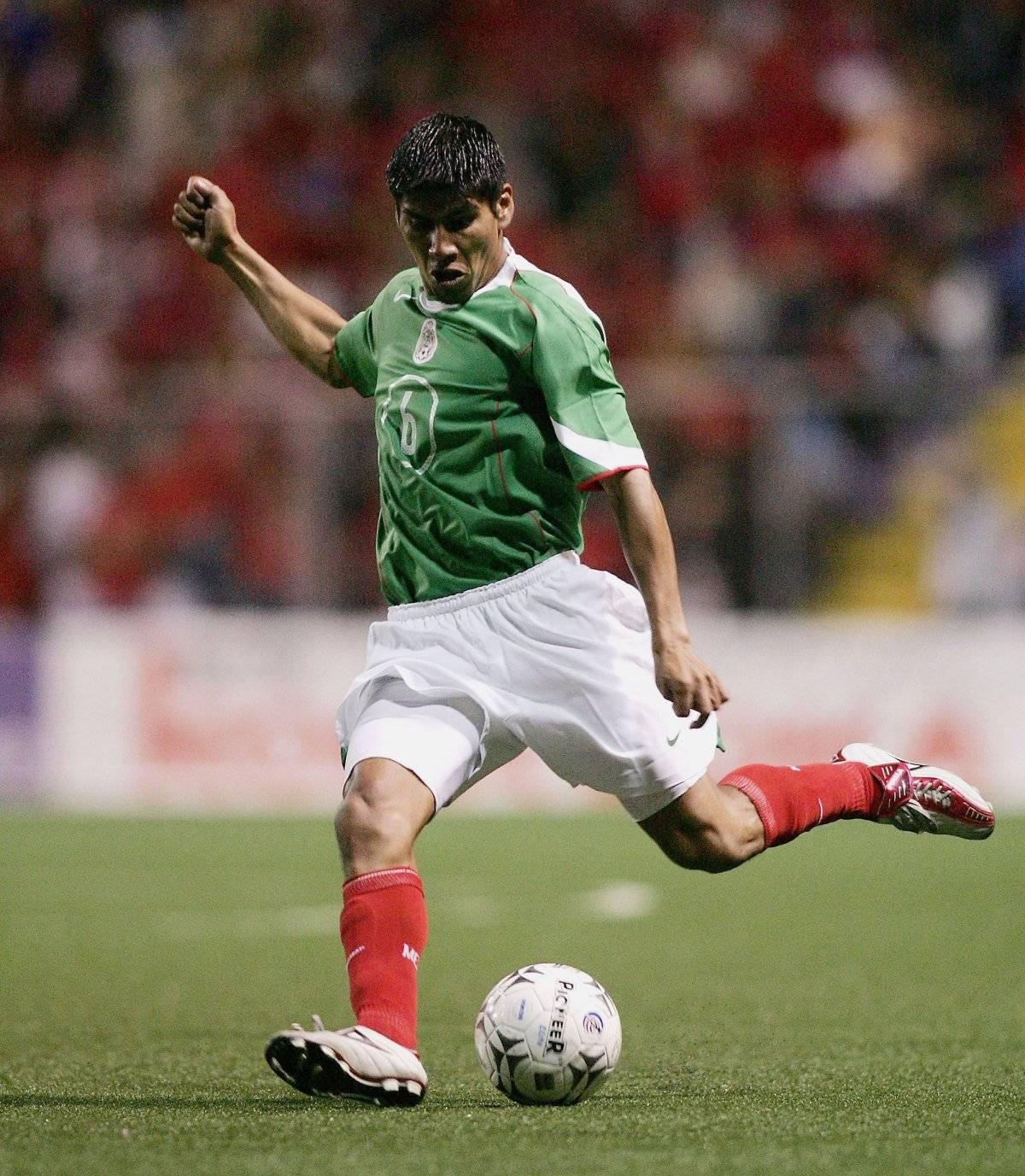 Carlos Salcido con la Selección mexicana Getty Images