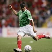 Carlos Salcido con la Selección mexicana