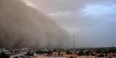 India (Tormenta de polvo)