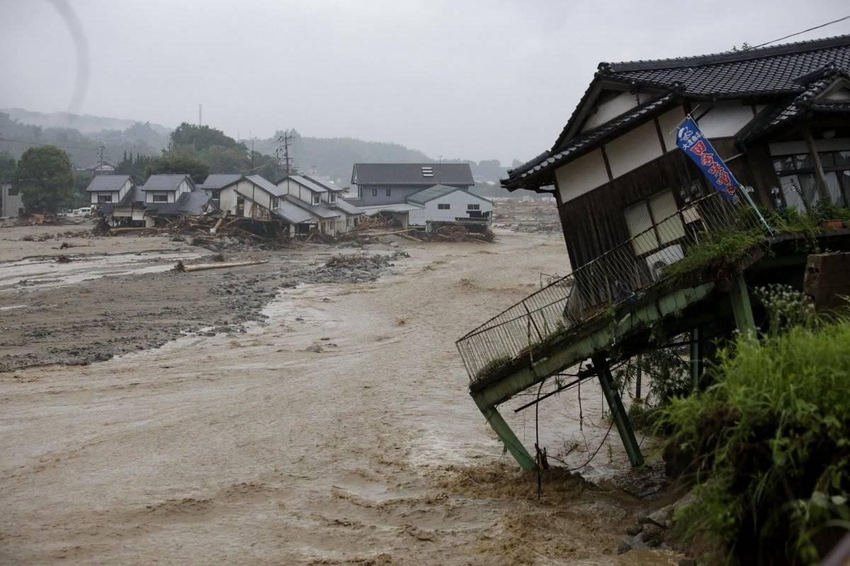 Japón (Inundaciones y derrumbes de tierras) Foto: EFE