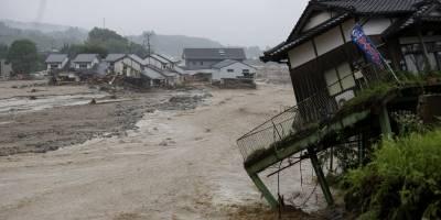 Japón (Inundaciones y derrumbes de tierras)