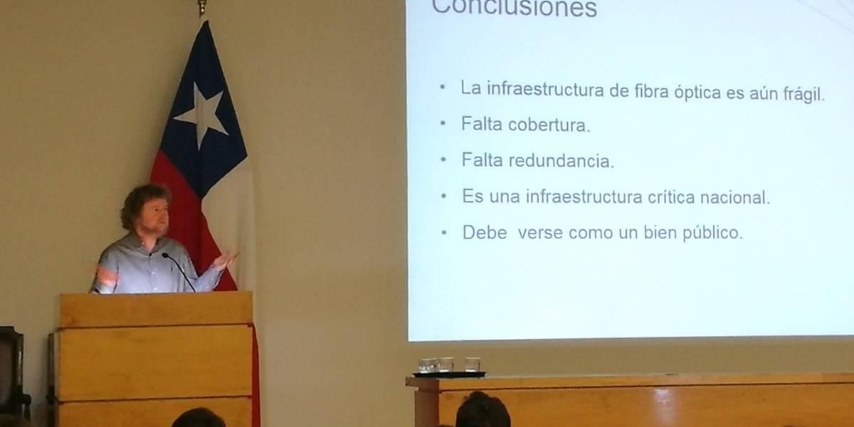 """Pionero del Internet en Chile: """"La fibra óptica es una infraestructura crítica y el Estado tiene que vincularse"""""""