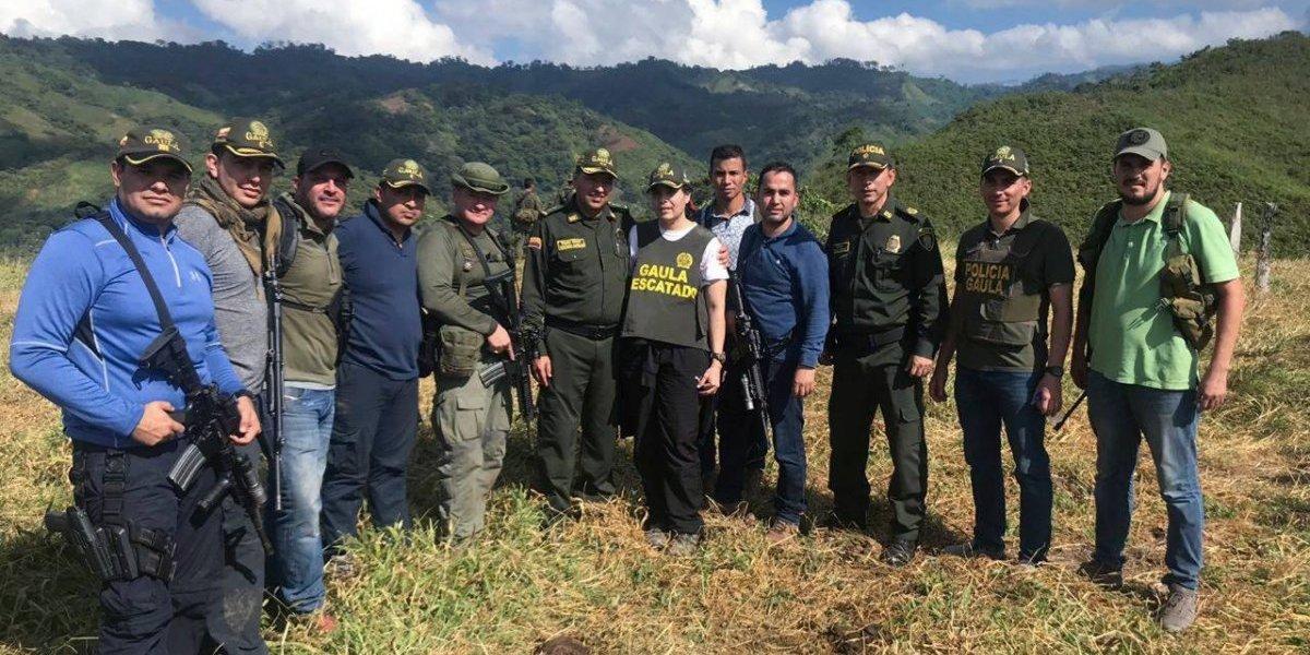 Rescatan en Colombia a sobrina de García Márquez
