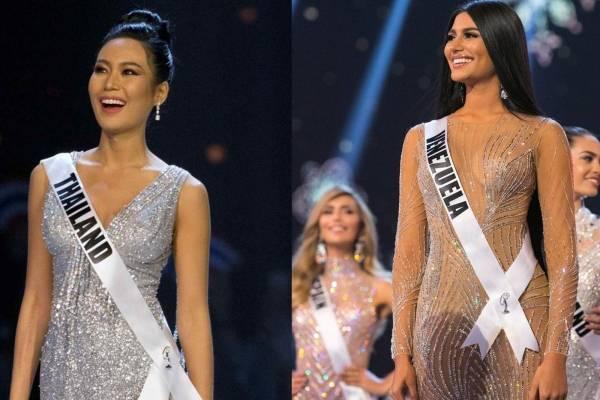 500f3fb83 Miss Universo 2018 Plateado y transparencias