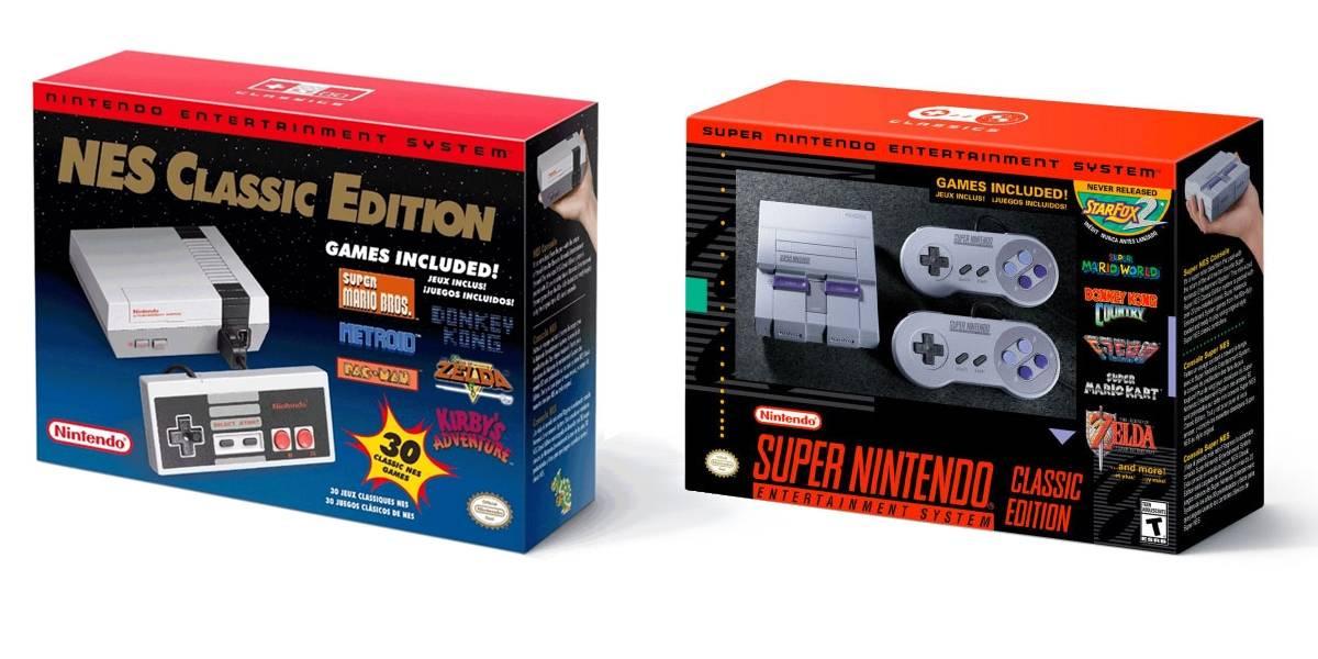 Nintendo confirma la descontinua la producción de NES y Super NES Mini