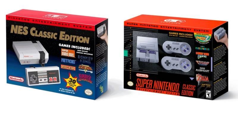 Feliz Navidad: Nintendo matará oficialmente la NES Classic y Super NES Classic