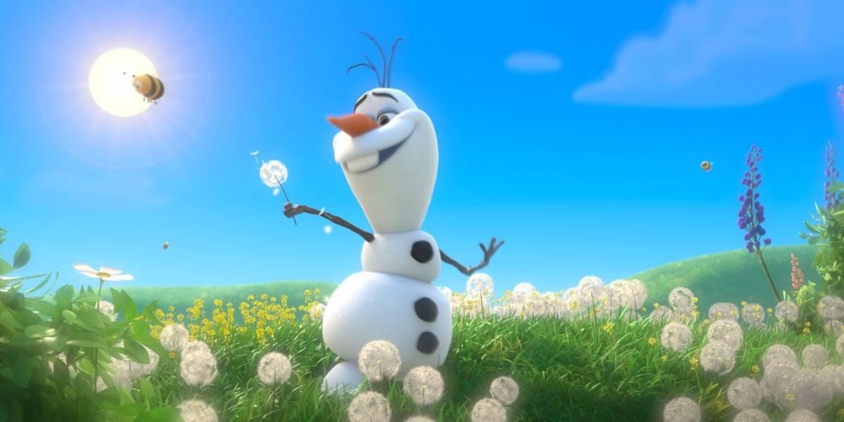 Olaf, de Frozen, 'derrete' durante férias no Brasil: 'estou um pouco fora de forma'
