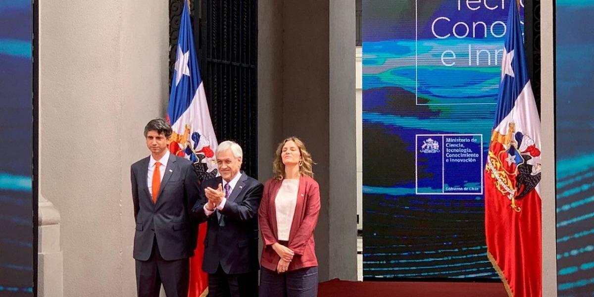 Ministro Andrés Couve y Subsecretaria Carolina Torrealba hablan tras la puesta en marcha del nuevo Ministerio