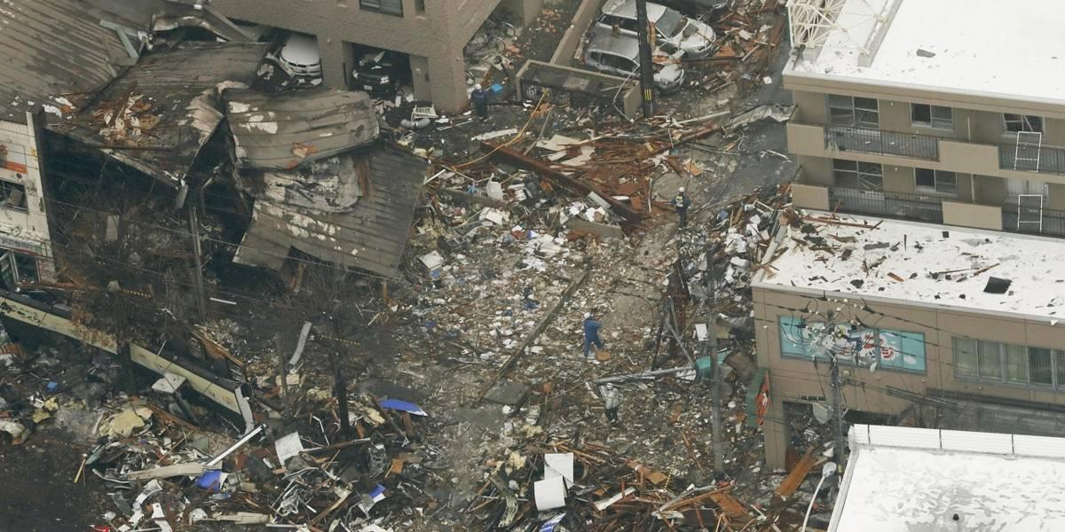 Explosão de prédio no Japão teria sido provocada por spray aerosol