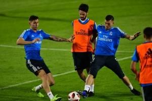 Real Madrid entrena en Abu Dabi