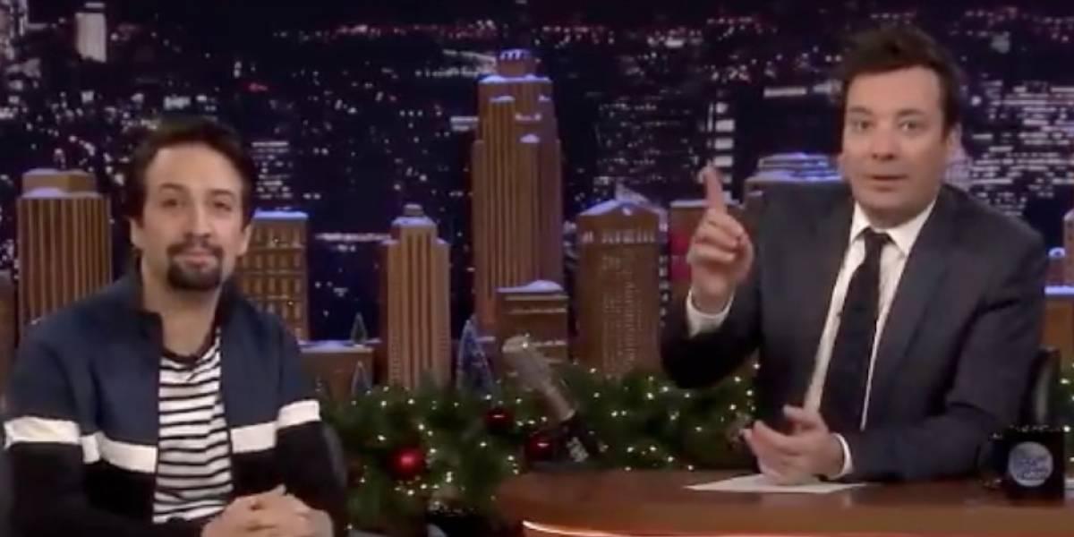 ''The Tonight Show'' hará programa especial en P.R. para la obra de Hamilton