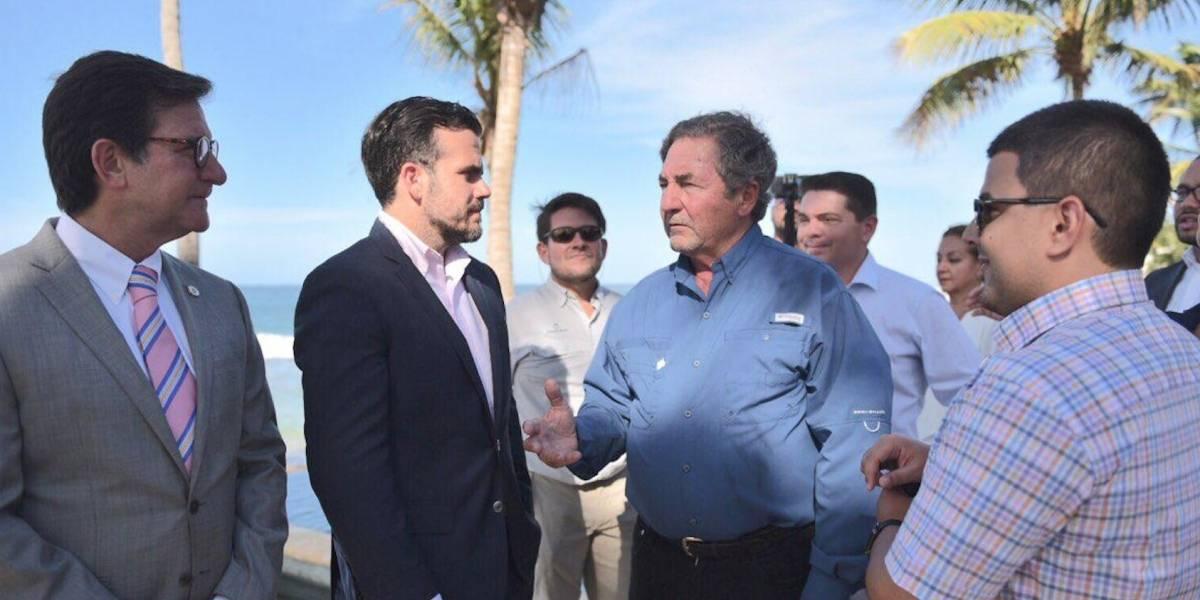 Gobernador hace su recorrido por el renovado hotel Ritz-Carlton en Dorado