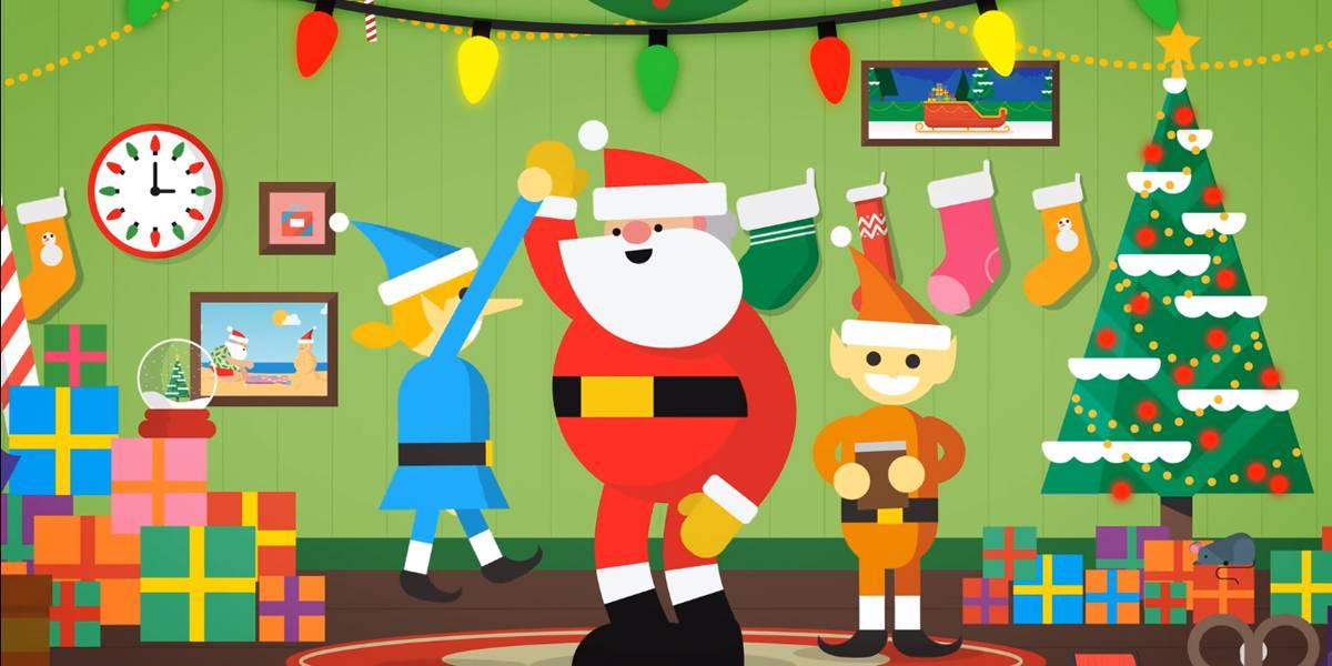 Sigue a Santa: Google lanza un sitio de juegos para encontrar al Viejito Pascuero