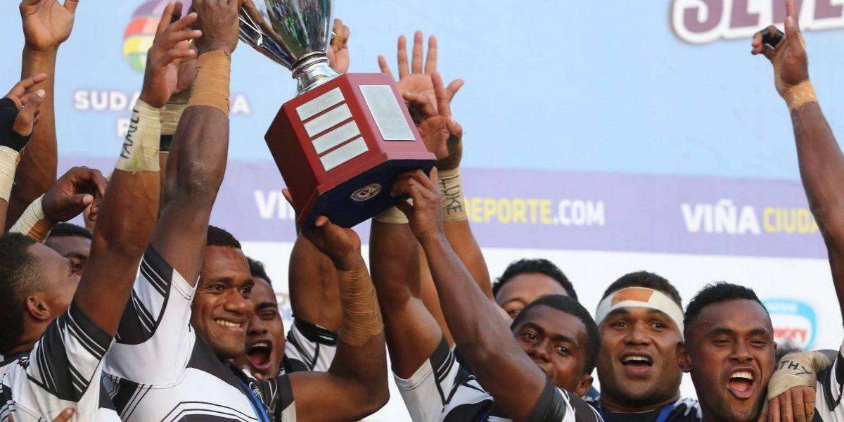 El Rugby Seven de Viña confirmó a sus 12 equipos con el campeón Sudáfrica a la cabeza