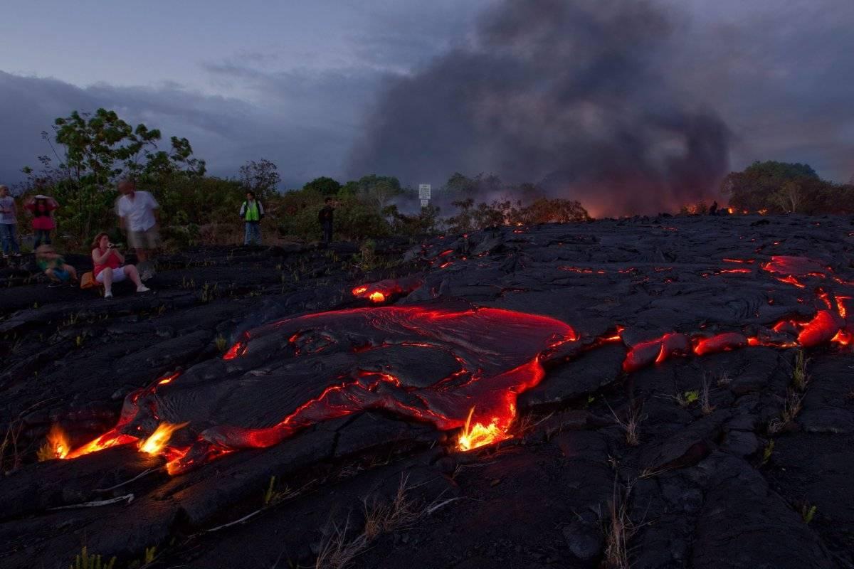 Estados Unidos (Erupción del volcán Kilauea en Hawái) Foto: EFE