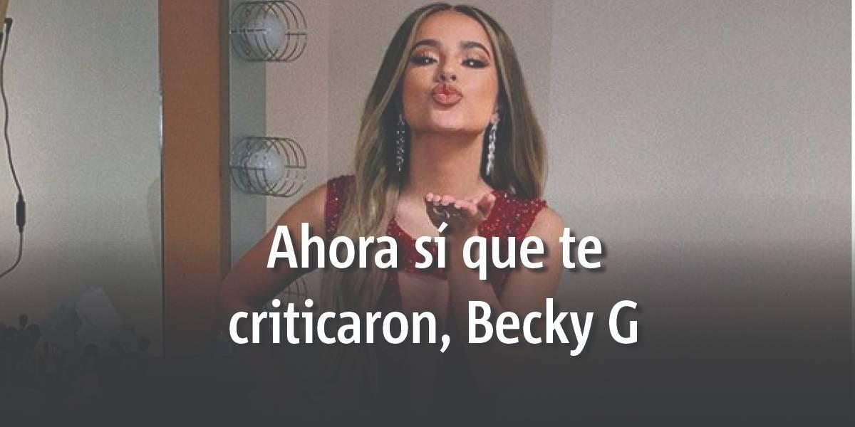 Becky G es fuertemente atacada por mostrarse al natural