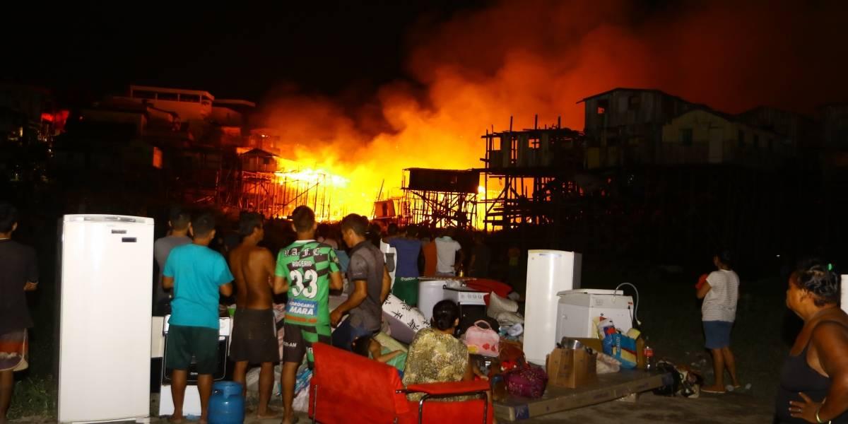 Manaus decreta calamidade pública após incêndio que atingiu mais de 600 casas