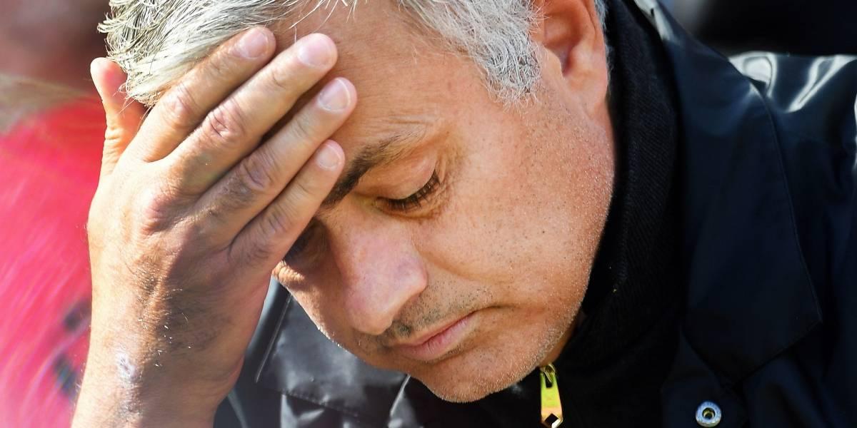 José Mourinho, despedido del Manchester United
