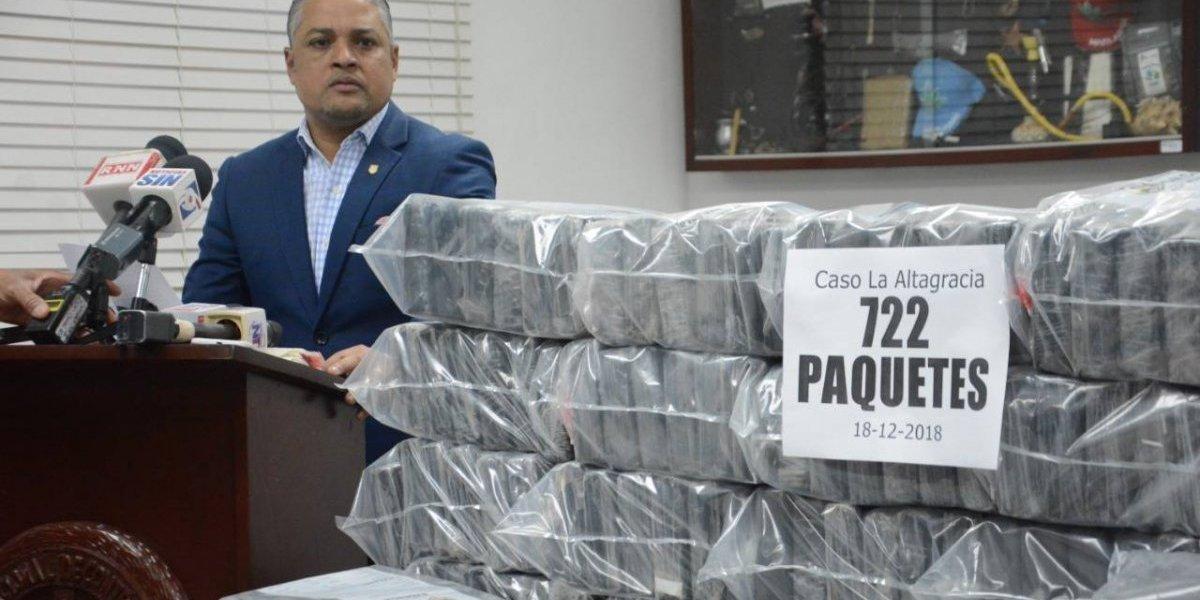 Decomisan 722 paquetes de drogas en la provincia La Altagracia