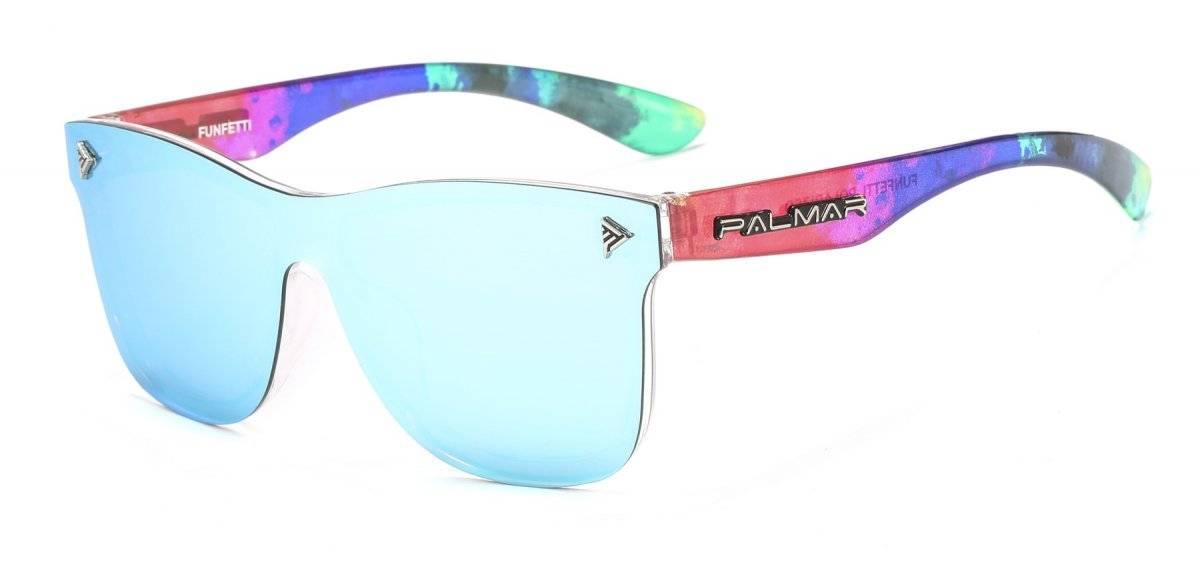 Funfetti, Flor Lotus y Green Jet son dos de los nuevos diseños de gafas PALMAR. / Suministrada