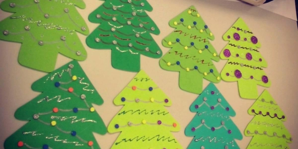Consejos: ¿Cómo hacer un árbol de Navidad de foami?