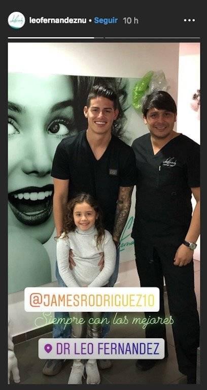 2. James en Colombia diciembre de 2018