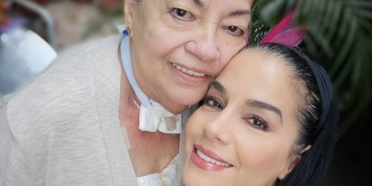 La hermana de Gabriela Pazmiño y su emotiva dedicatoria tras la muerte de su madre