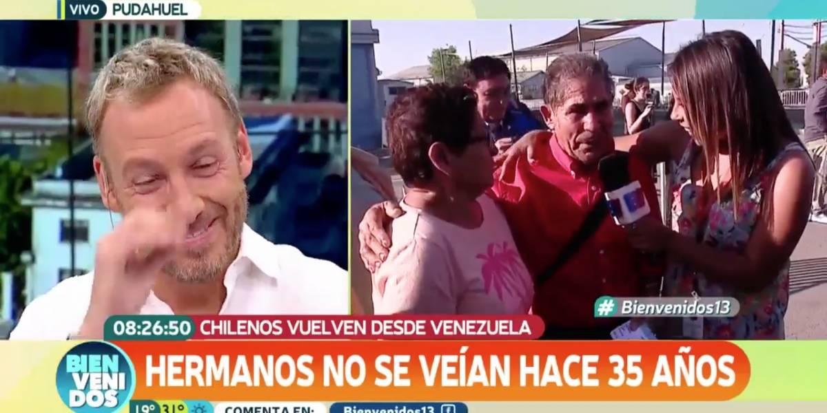 """""""Hace años que no me como un pedacito de pan"""": el relato que hizo llorar a Martín Cárcamo en """"Bienvenidos"""""""