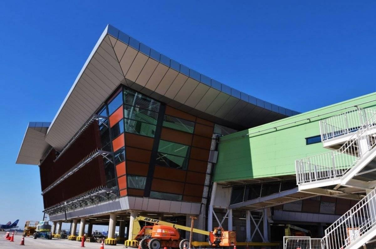 Espigón C del aeropuerto 2018 / Gentileza MTT