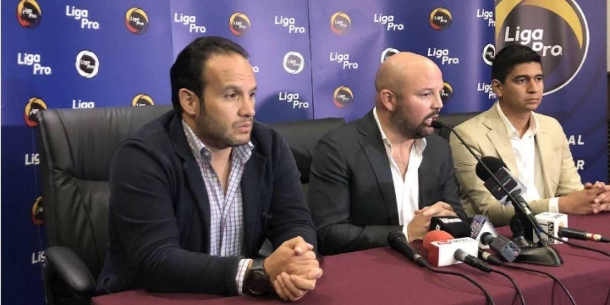 Liga Pro propone a Francisco Egas como candidato a la presidencia de la FEF