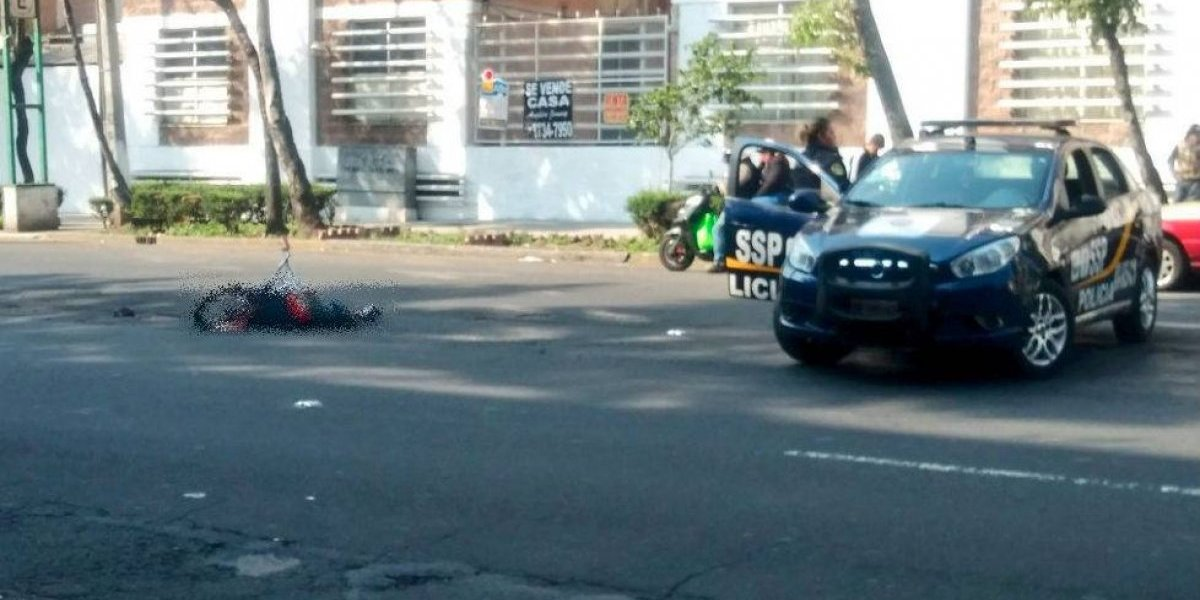 Muere otro ciclista atropellado por camión en la CDMX, ahora en la Cuauhtémoc