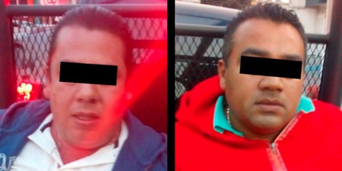 Detienen en Ecatepec a sujetos por posesión de dinero de dudosa procedencia