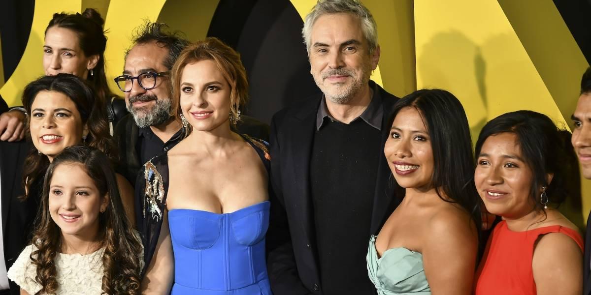 Alfonso Cuarón presume cumbia de Yalitza Aparicio