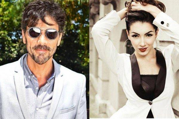 Juan Darthés y Thelma Fardín