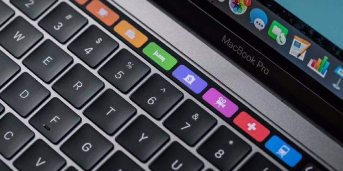 La touchbar del Macbook sigue encantando a un año de su lanzamiento